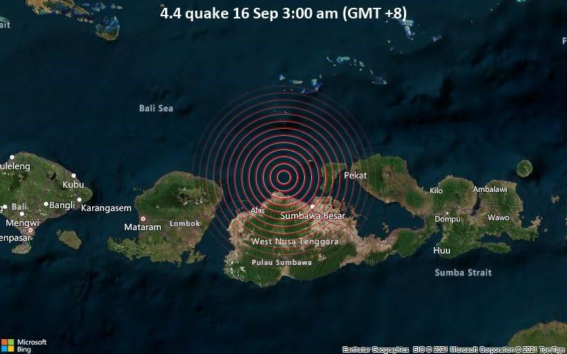 4.4 quake 16 Sep 3:00 am (GMT +8)