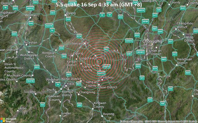 5.5 quake 16 Sep 4:33 am (GMT +8)