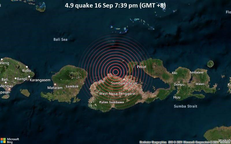 4.9 quake 16 Sep 7:39 pm (GMT +8)