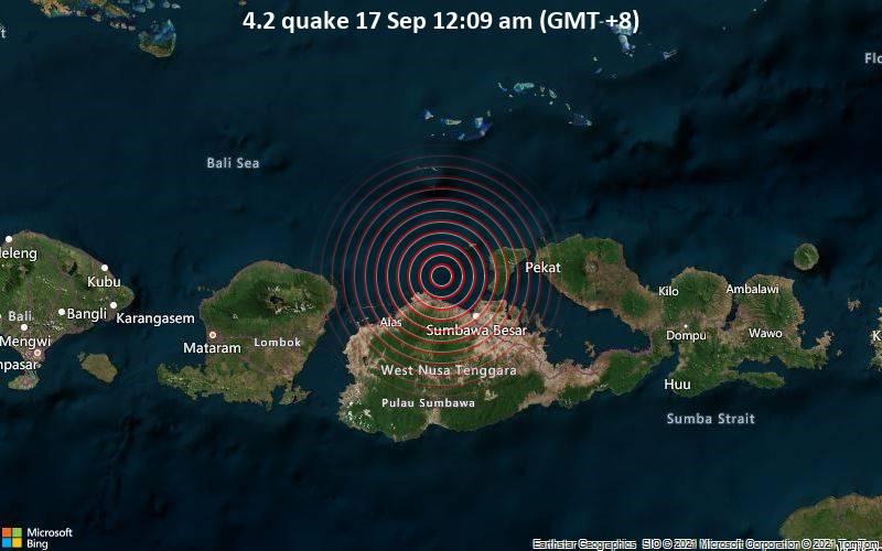 4.2 quake 17 Sep 12:09 am (GMT +8)