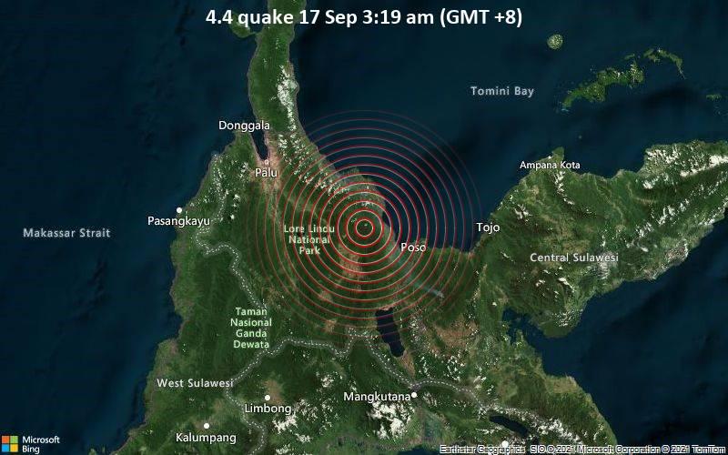 4.4 quake 17 Sep 3:19 am (GMT +8)