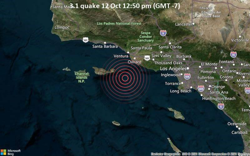 3.1 quake 12 Oct 12:50 pm (GMT -7)