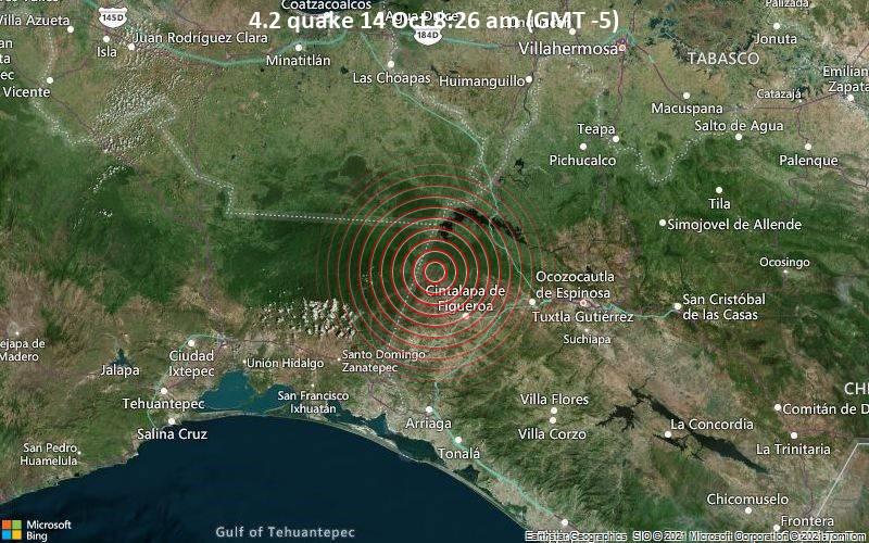 4.2 quake 14 Oct 8:26 am (GMT -5)