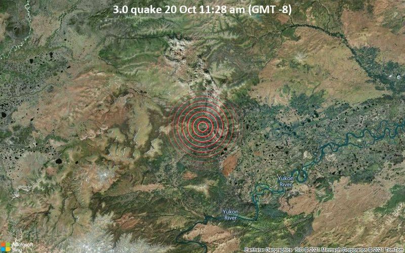 3.0 quake 20 Oct 11:28 am (GMT -8)