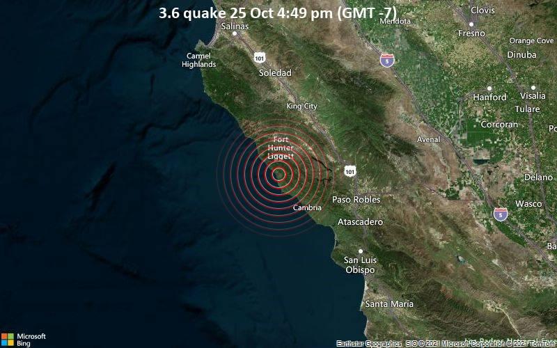 3.6 quake 25 Oct 4:49 pm (GMT -7)