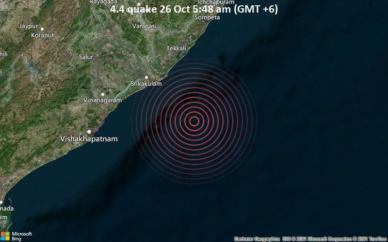4.4 quake 26 Oct 5:48 am (GMT +6)
