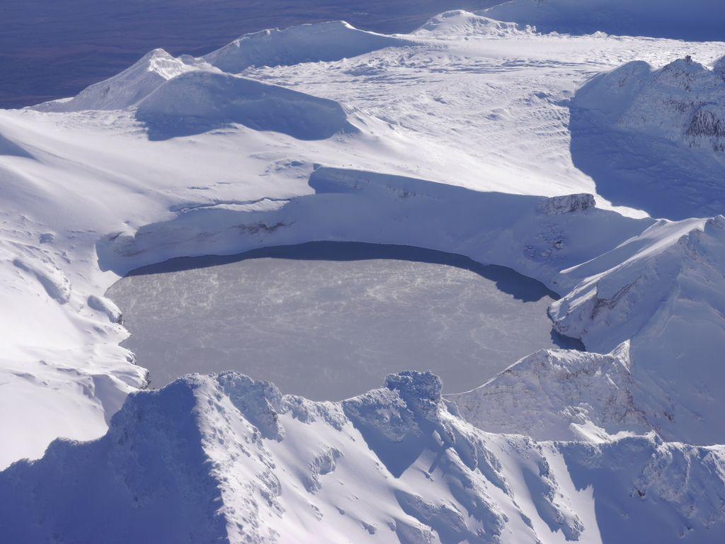 Ruapehu volcano's Crater Lake (image: GeoNet)