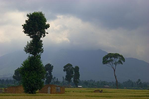 Sabinyo volcano