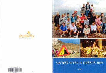 Einer der Teilnehmer an der Reise nach Santorin schickte uns diese selbstgemachte Postkarte...