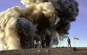 Der Vulkan Semeru