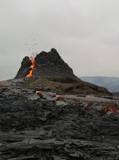 The main spatter cone (image: volcanocafe.org)