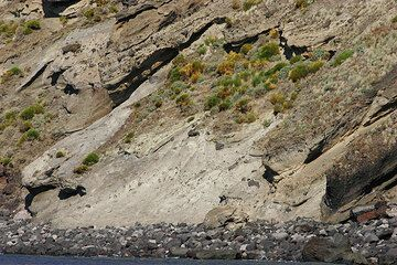 Stromboli's shoreline