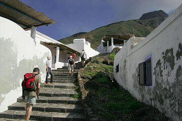 Ginostra village on Stromboli