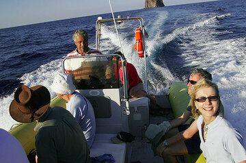 Boat tour (Stromboli)