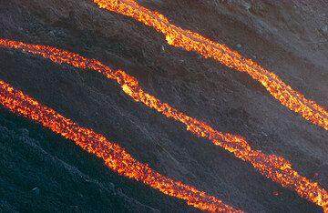 3 lava channels.