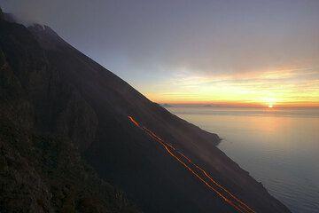 Sunset on the sea. (2)