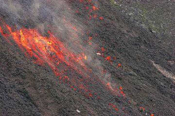 Advancing lava flow (3)