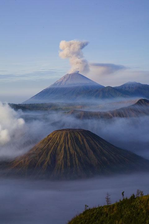 Tengger caldera, Java (Indonesia)