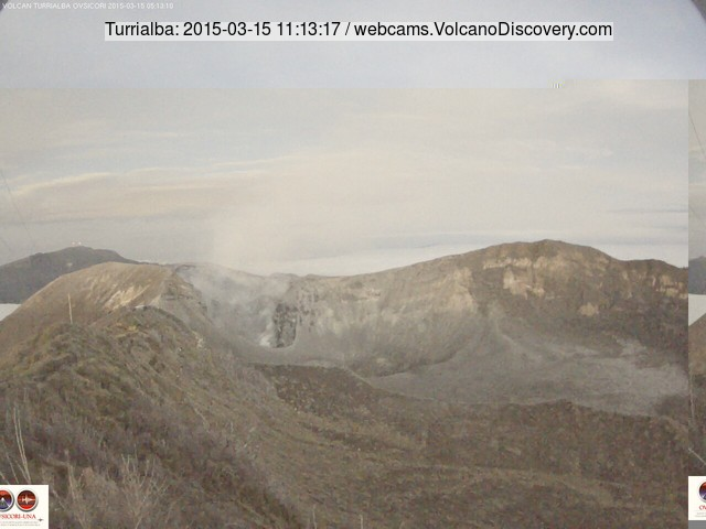 Turrialba volcano today