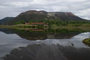 Vulcano after the rain