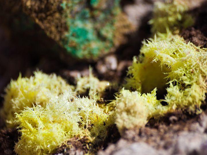 Schwefel Kristalle (c) Tobias Schorr