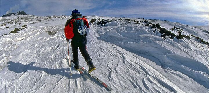 Ski excursion on Etna volcano (photo: Marco Fulle)