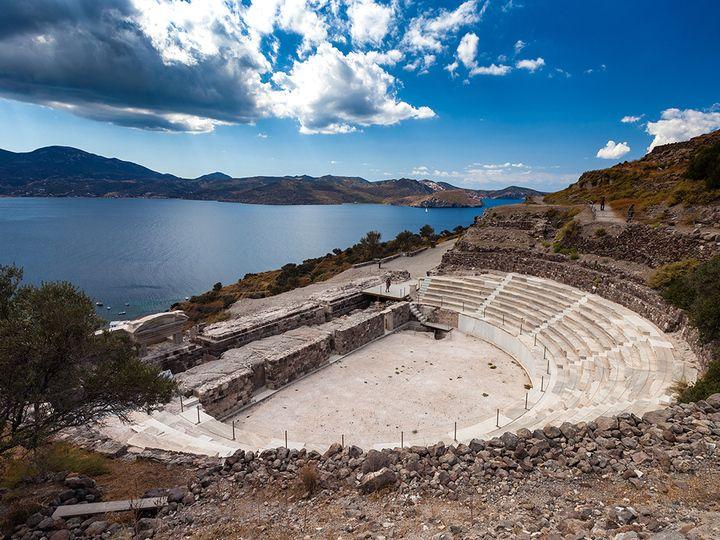 Theater von Milos (c) Tobias Schorr