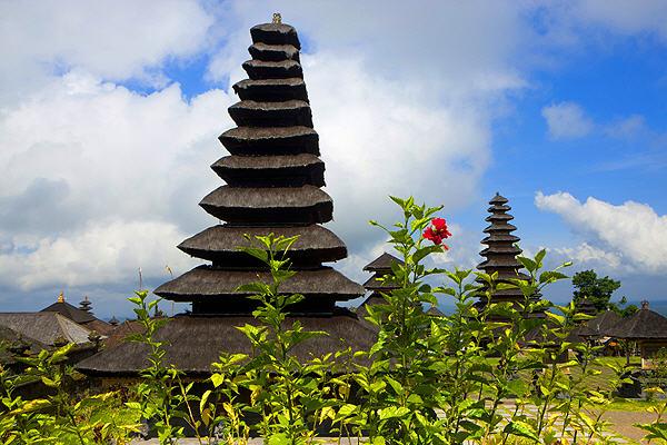 Balinesischer Tempel (Foto: Roland Gerth)