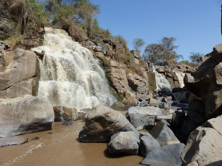 Awash waterfalls in the National Park (Ingrid Smet - November 2015)