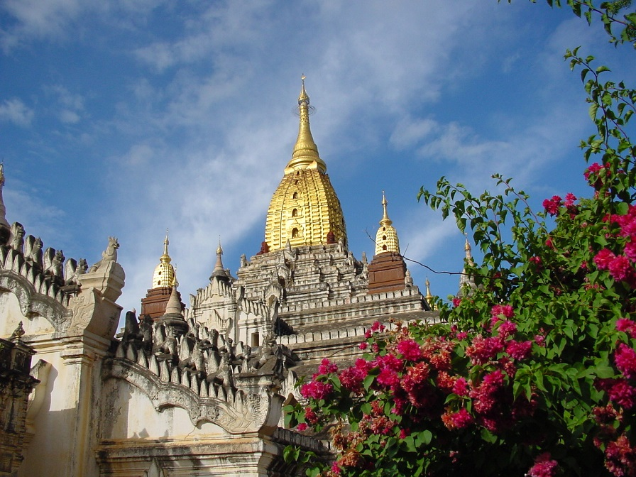 Part of the Bagan temple complex