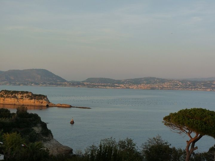 Evening light over the Gulf of Naples