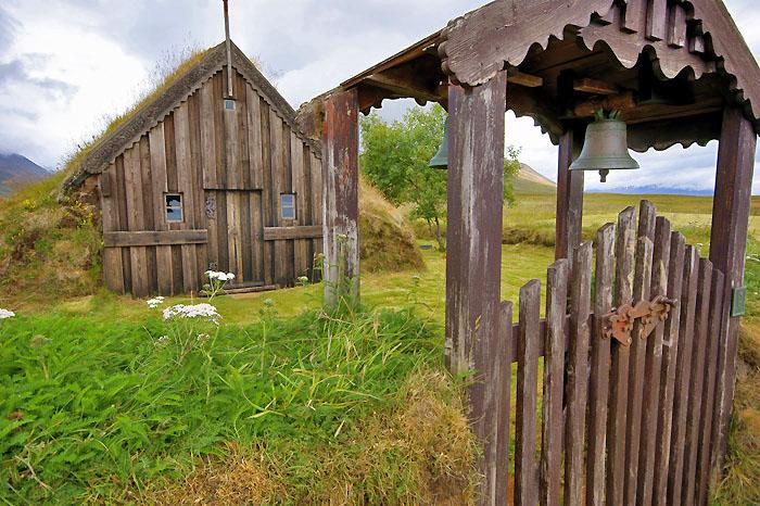 Grafakirkja - the oldest church of Iceland
