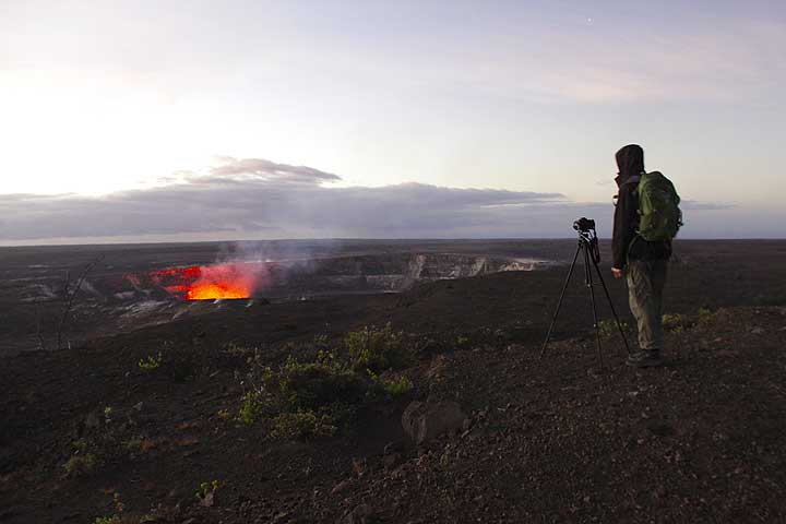At the lava sea entry