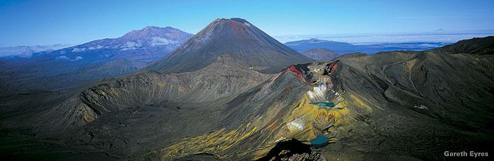 Le Parc National du Tongariro (photo: Tourisme de Nouvelle Zélande)