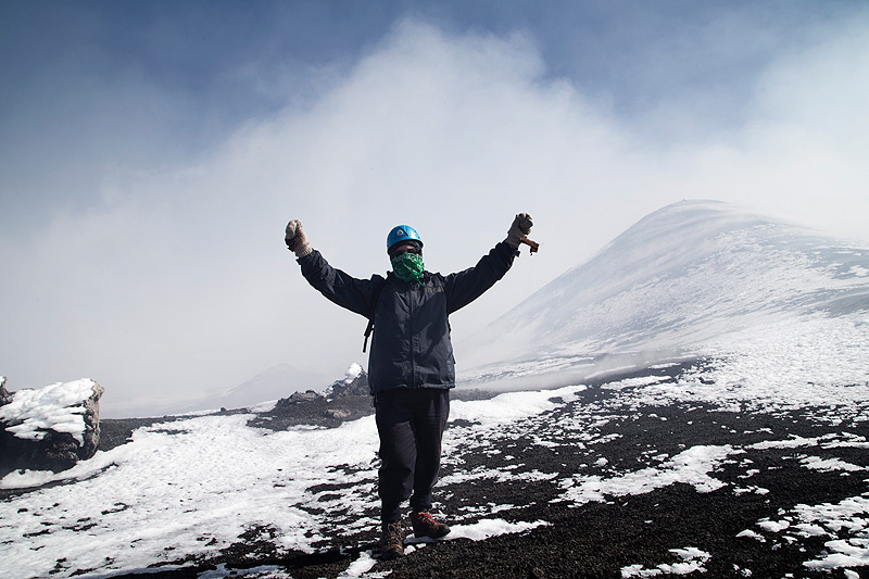 After a strenuous ascent the feeling to be on the top of the mountain will erase all your tiredness and would be rewarding (photo: Emanuela Carone)