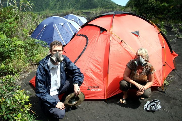 Camping von Volcano Discovery