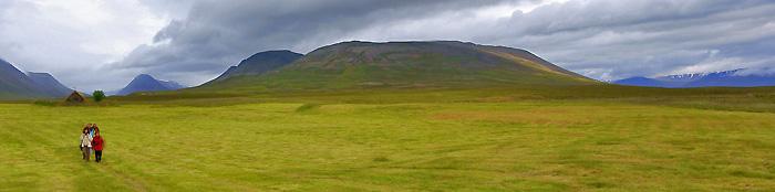 Hiking on Iceland
