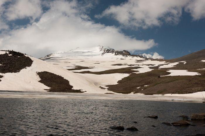 Lake on the Mt.Aragatz