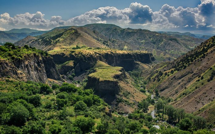 Colorful landscapes of Armenia