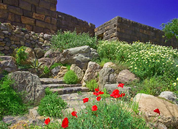 The ancient acropolis Paliocastro of Mandraki/Nisyros