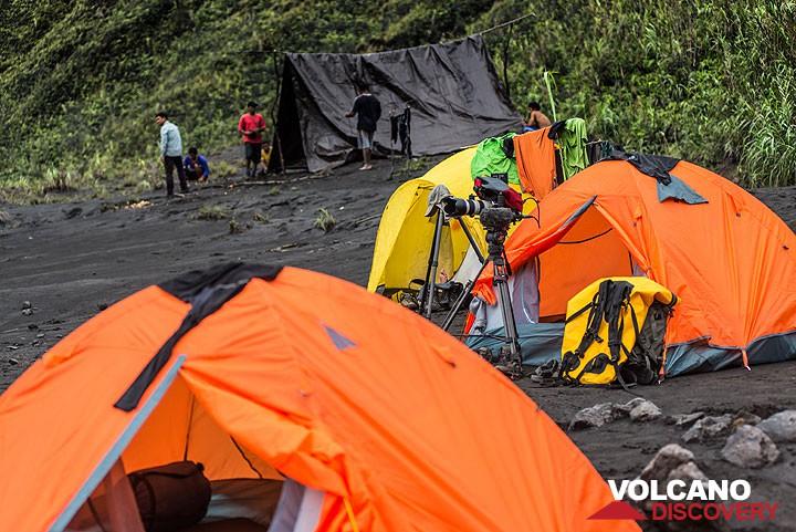 Camp at Dukono
