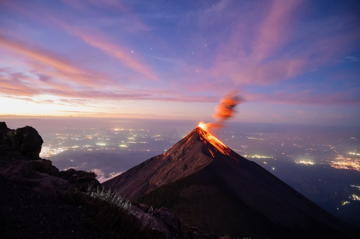 14-jours Voyage d'étude et expédition sur les volcans actifs du Guatemala
