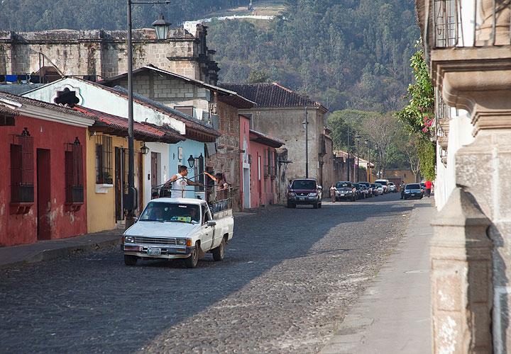 Street in Antigua town
