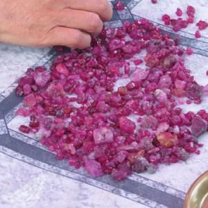 Myanmar rubies