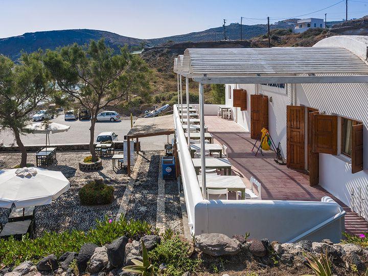 Das Hotel Akrotiri