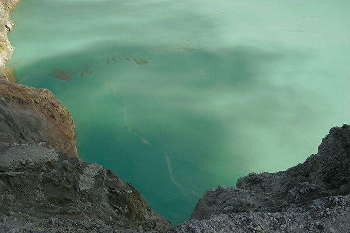 Ijen's acid crater lake