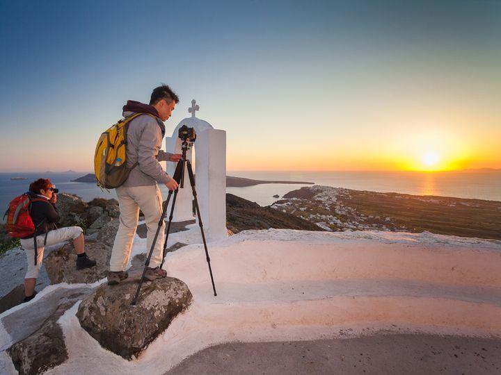 Sunset at Oía