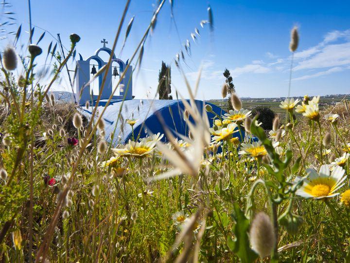 The hidden chapel in the fields
