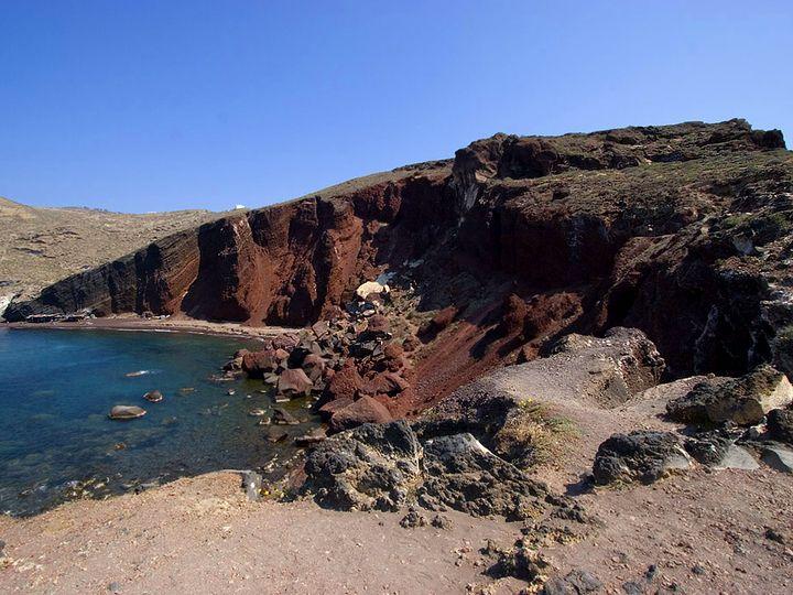 Das Dorf Akrotiri