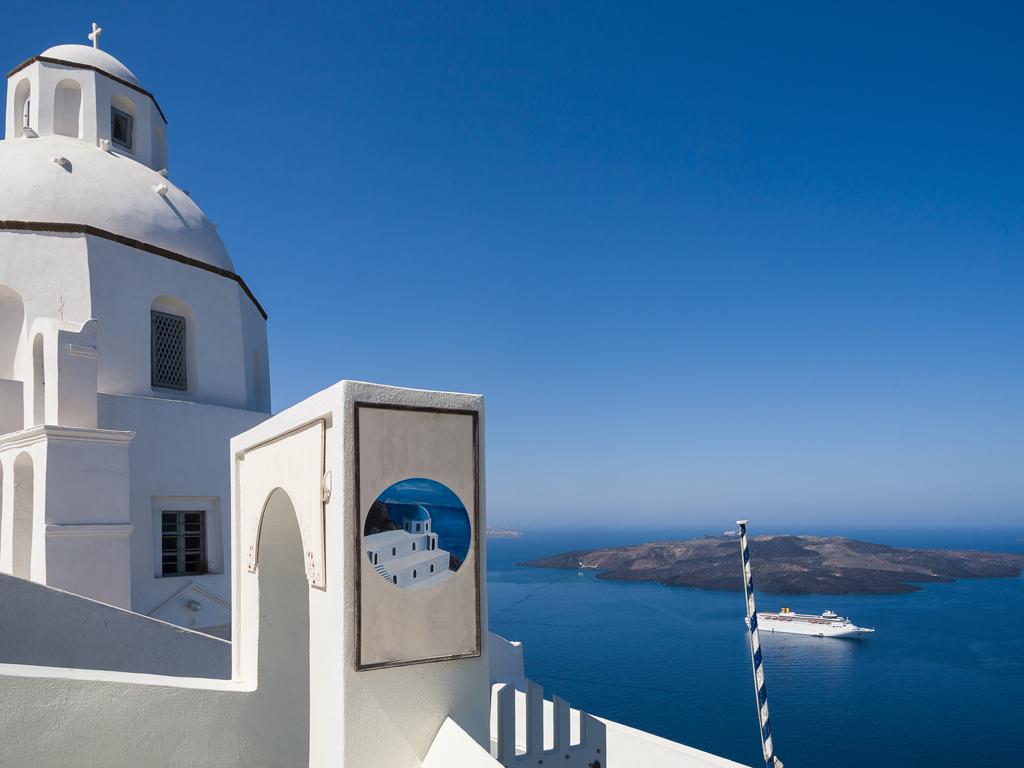 Die Kirche Agios Minas